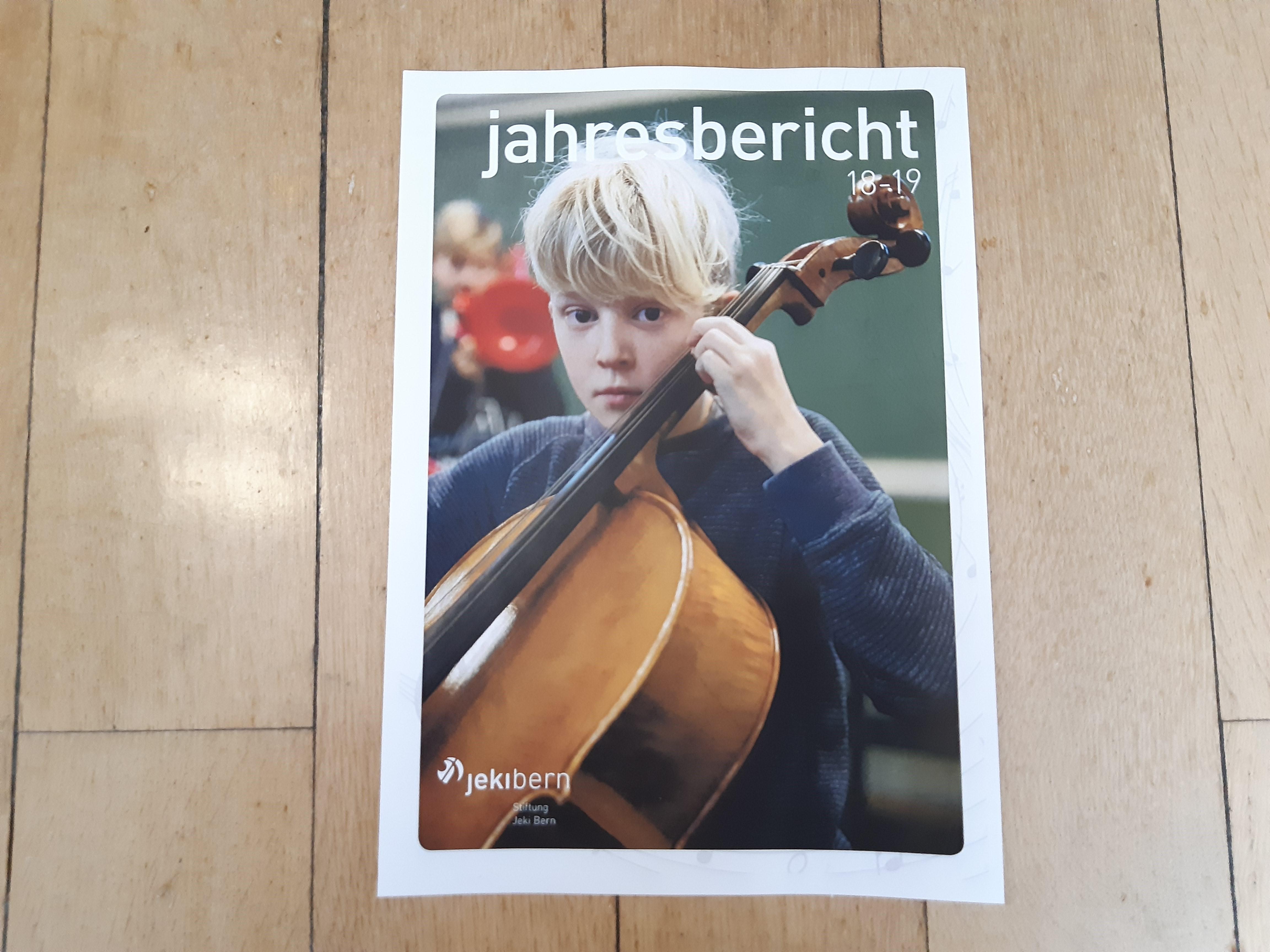 Teaser Bild von Jahresbericht JEKI Bern 2018/2019